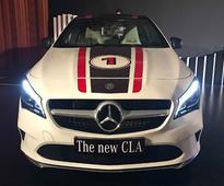 Mercedes-Benz CLA facelift launched at Rs 31.40 lakh