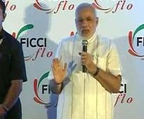 Narendra Modi's FICCI speech focuses on 'Mother India' to displace Rahul Gandhi's beehive