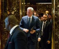 De Blasio, Robert Kraft Spotted at Trump Tower
