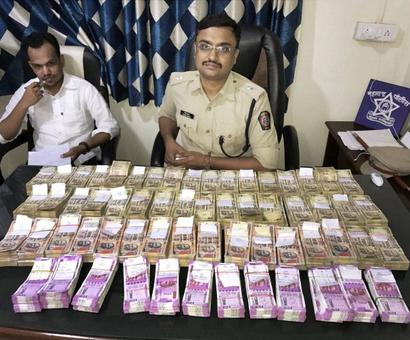 Crores in new currency seized from across country