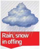 Rain, snow in offing: Met Dept