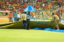 Rain delayed Bangalore-Chennai tie