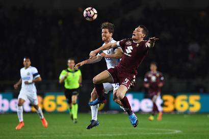 Euro football: Inter's Champions League hopes dented, Nice held