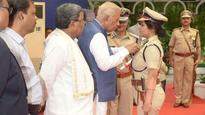 Karnataka IG D Roopa awarded President's medal at Raj Bhawan for meritorious service