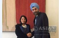 Priti Welcomes Indian Envoy