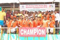 Railways retains title in shootout