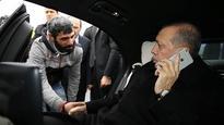 Erdogan talks man out of Bosphorus bridge suicide attempt