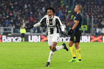 Serie A: Cuadrado's rocket sees Juve end Inter streak