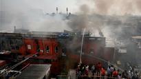 Kolkata: Burrabazar fire finally put out, building gutted
