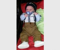 Help to mend baby Damian's broken heart