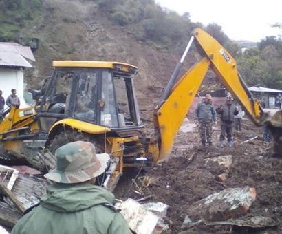 At least 14 dead in Arunachal landslide