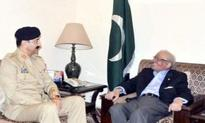 Corps Commander Karachi meets Governor Sindh