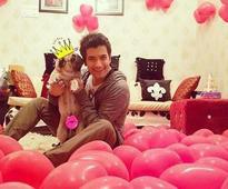 Sharad Malhotra begins birthday celebrations with his dog