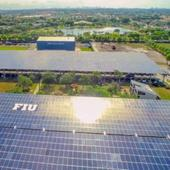 17-Second Timelapse Of Giant Solar Parking Canopies In Florida