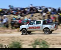 Off-road competitions in Qazvin