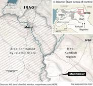 Third U.S. combat death comes as American troops edge closer to the front lines in Iraq