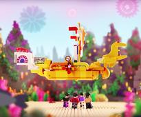 LEGO gets a ticket to ride the beatles yellow submarine