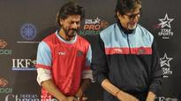 Here's how Shah Rukh Khan wished Amitabh Bachchan on his birthday