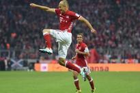 Bundesliga results: Old hands Franck Ribery and Arjen Robben score as Bayern Munich go top