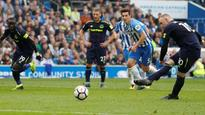 Premier League: Wayne Rooney's late penalty earns Everton a point at Brighton and Hove Albion