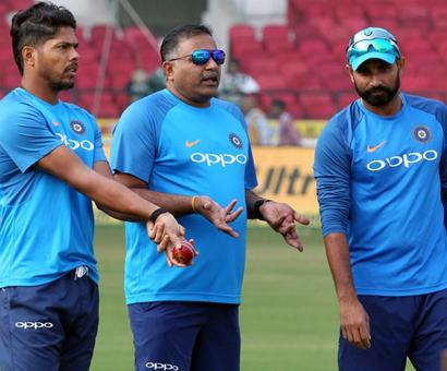 India's bowling coach is on a mission. But what is it?