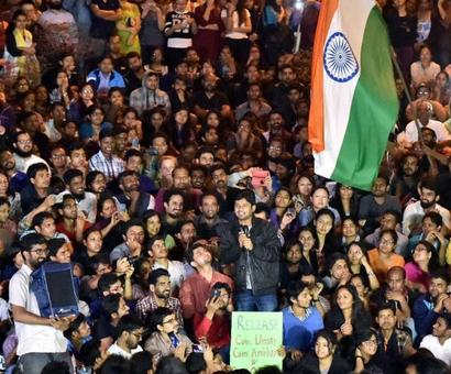 JNU ranking for students' good work, not Afzal Guru slogans, quips Javadekar