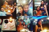 New mom Dimpy Ganguly celebrates birthday with mom and husband
