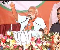 Uttar Pradesh in throes of anarchy: Modi attacks SP