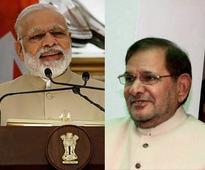 JD(U) double standards lay bare as Sharad Yadav unleashes attack on Narendra Modi govt, Major Leetul Gogoi
