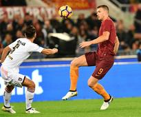 Dzeko still on top as Roma, Inter Milan nudge Juventus