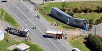 5 Truck driver in fatal crash named