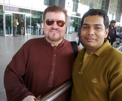 Spotted: Nitin Mukesh in Bangalore