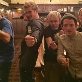 When the 'Lord of the Rings' fellowship reunited to use cutlery and fight a cave troll