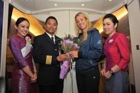 THAI Welcomes Grand Slam Champion Onboard Flights Back Home