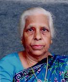 Mary Lobo (89) Kulshekhar / Jayanagar, Bangalore