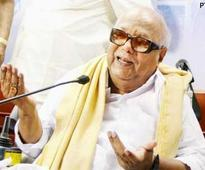 Defamation case: Karunanidhi appears in court