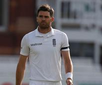 James Anderson to miss opening Test against India