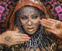 Beyonce Knowles opts for Indian dress again