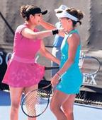 Sania and Bopanna move to second with partners