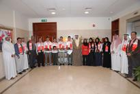 Minister of Education receives the Winning Students in the Second Gulf Olympics
