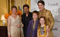 B-town meets and greets Justin Trudeau and family