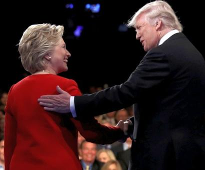 Clinton's jabs put Trump on the mat in first debate