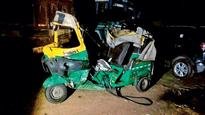 5 killed after speeding car hits autorickshaw