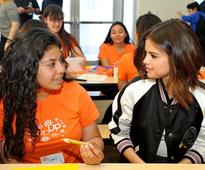 Selena Gomez surprises high school students