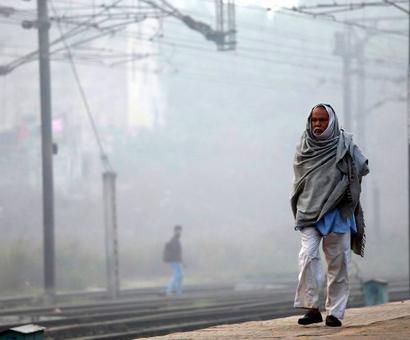 Northern India is just entering its smog season: NOAA