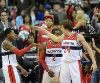 Wizards Jan Vesely brings maximum effort in win over Toronto
