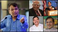 Suresh Prabhu, YS Chowdary, Sharad Yadav, Ram Jethamalani among others elected to Rajya Sabha