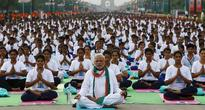 Place Your Mats: Indian Office Workers Get Ready for Official Yoga-Breaks