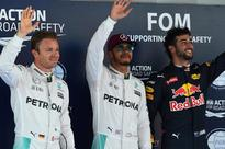 Hamilton beats Rosberg to Spanish F1 pole