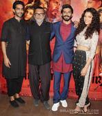 Amitabh Bachchan, Raveena Tandon, Waheeda Rehman turn in for Harshvardhan Kapoor and Saiyami Kher's Mirzya screening
